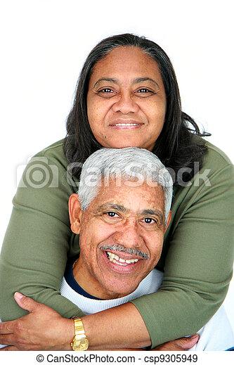 Minority Couple - csp9305949