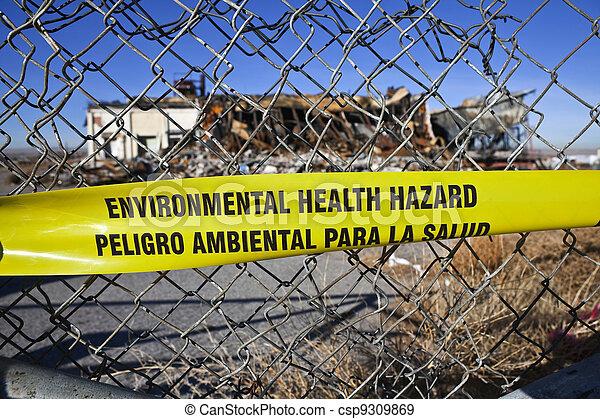 Environmental Health Hazard - csp9309869