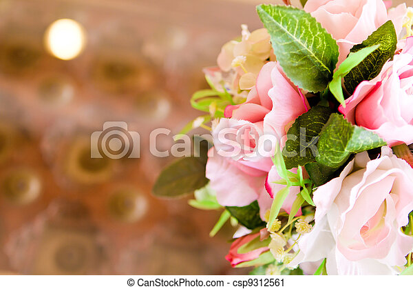 Decoration artificial flower - csp9312561