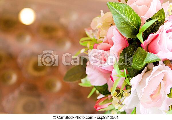 Decoration artificial flower - csp9312561