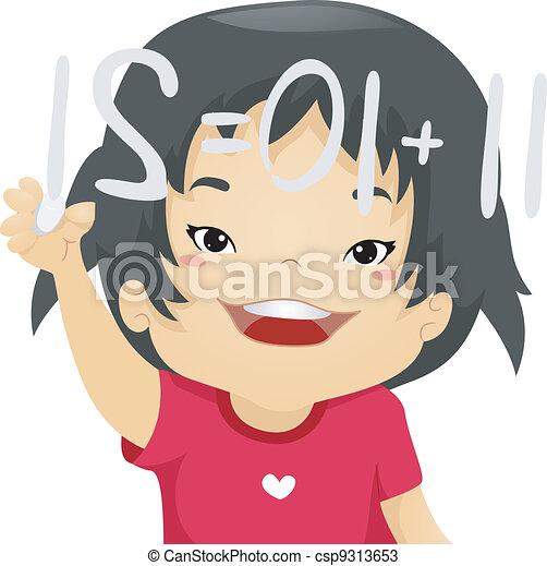 Math Kid - csp9313653
