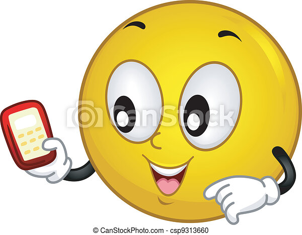 Techie Smiley - csp9313660