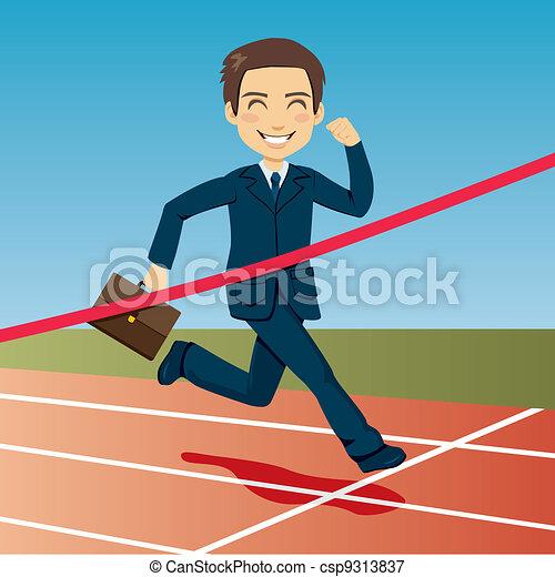 Successful Businessman - csp9313837