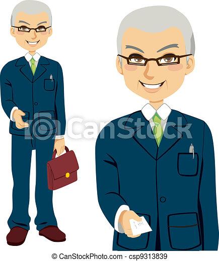 Senior Salesman - csp9313839