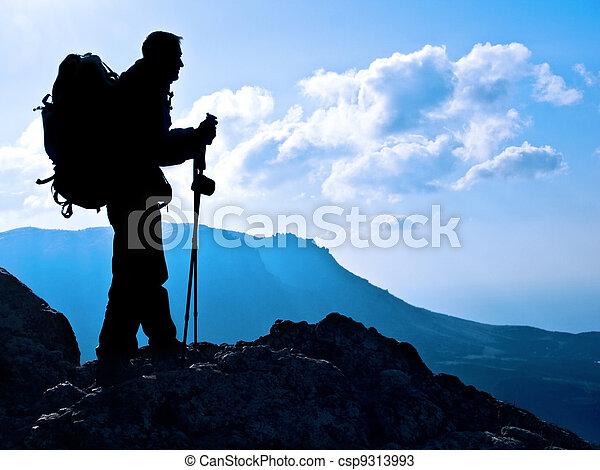 hiker - csp9313993