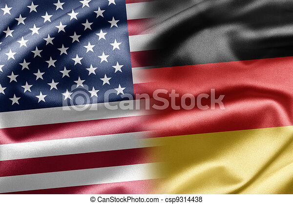 USA and Germany - csp9314438