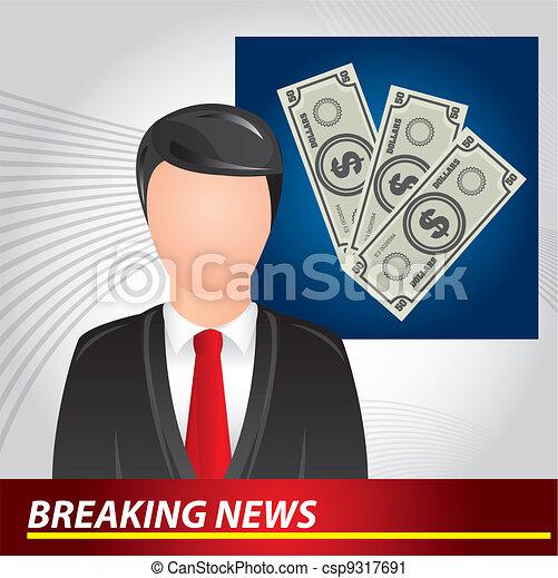 breaking news - csp9317691