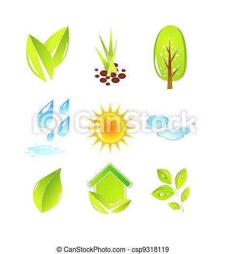 Nature icons - csp9318119