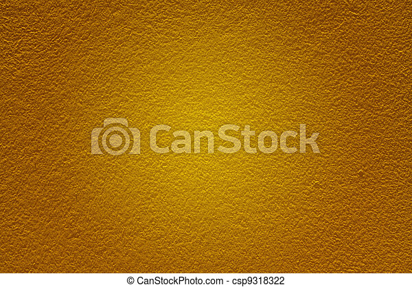 Masonry walls yellow. - csp9318322