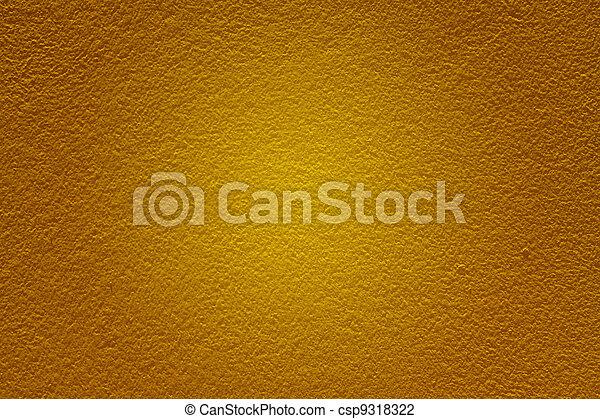 Masonry walls yellow. - csp9318322