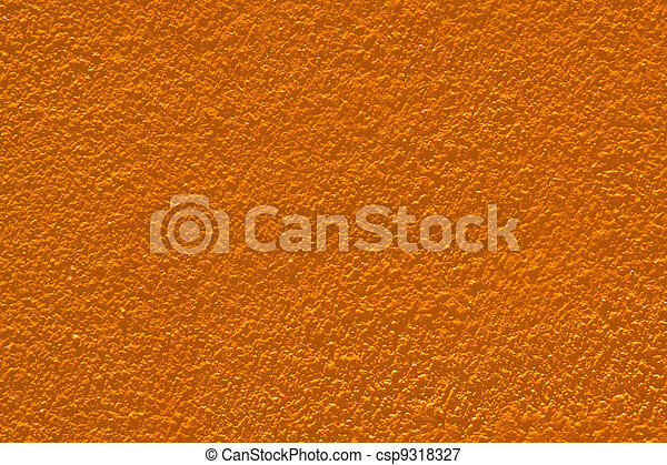 Masonry walls orange. - csp9318327