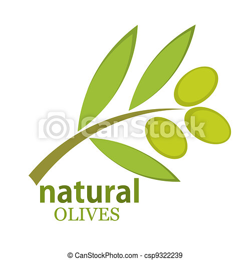 Olive branch - csp9322239