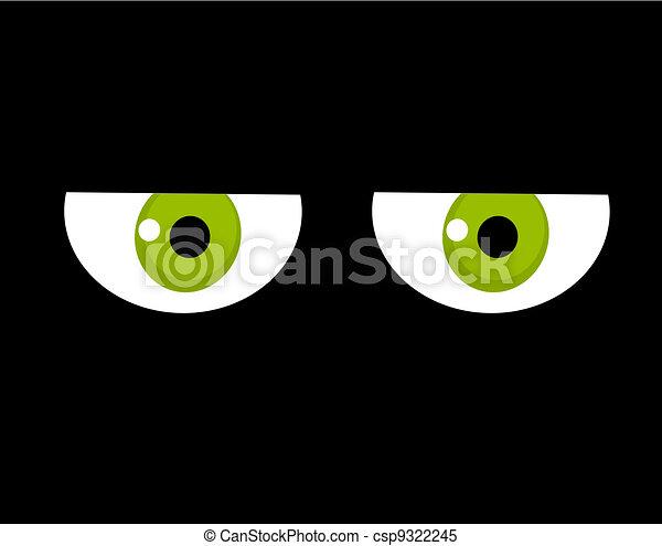 Sad eyes - csp9322245