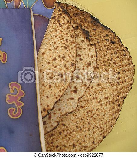 Passover Matzah   - csp9322877