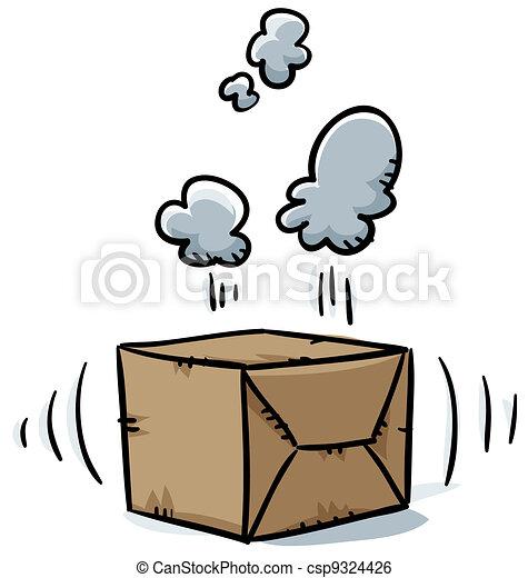 Suspicious Box - csp9324426