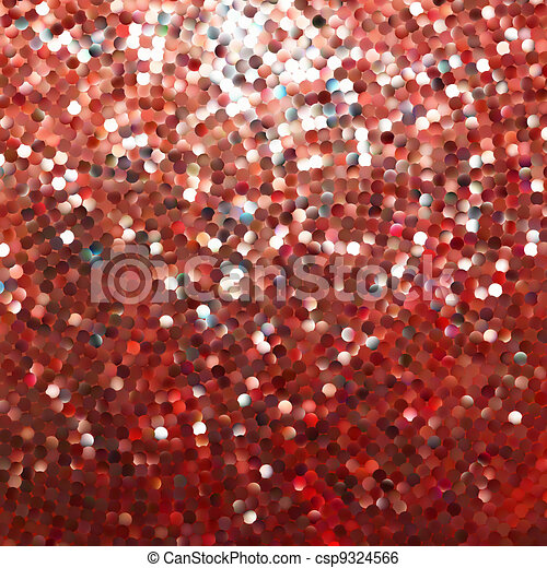 Amazing template design on red glittering. EPS 8 - csp9324566