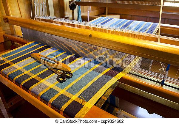 Craft and Art - Weaving - csp9324602