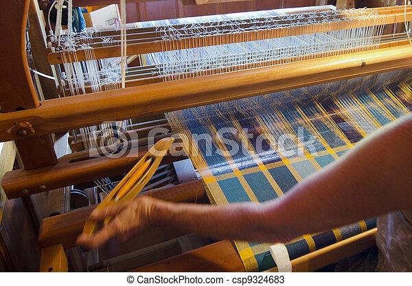 Craft and Art -Weaving - csp9324683