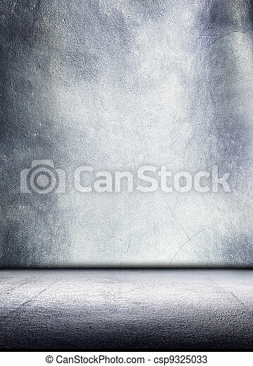 Metal plate steel background. - csp9325033
