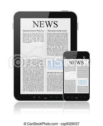 News On Modern Digital Devices - csp9326037