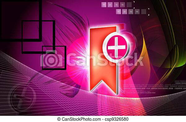 Clinical symbol - csp9326580