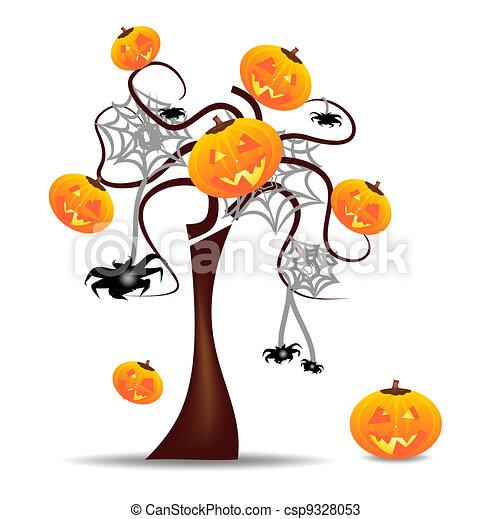 Vivid Wallpaper Halloween - csp9328053