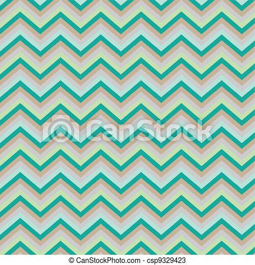 Pattern Retro Zig Zag Chevron - csp9329423