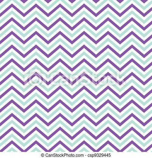 Pattern Retro Zig Zag Chevron - csp9329445