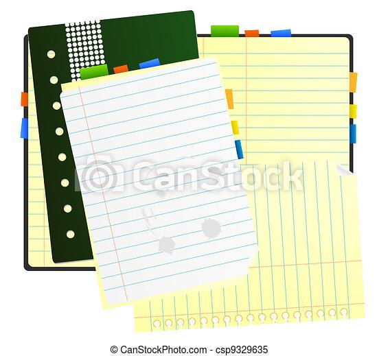 Vector organizer - csp9329635