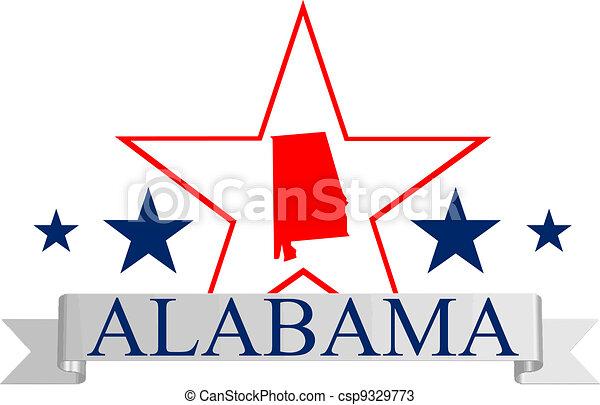 Alabama star - csp9329773