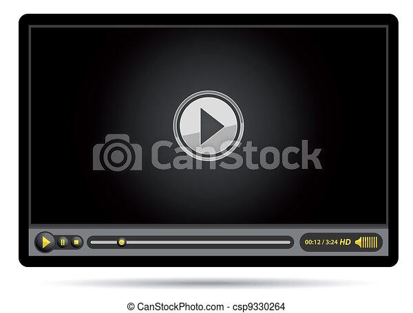 video black player - csp9330264