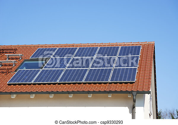 Roof With Photovoltaic System - csp9330293