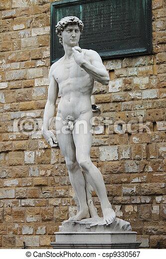Statue of David - csp9330567