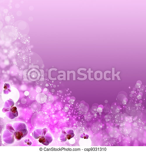 beautiful abstract optimistic backgrounds with defocused bokeh - csp9331310