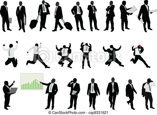 business people collection - csp9331621
