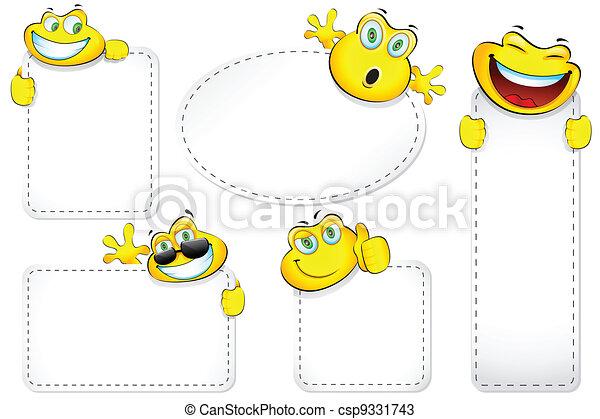 Smiley Label - csp9331743