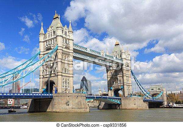 London Tower Bridge - csp9331856