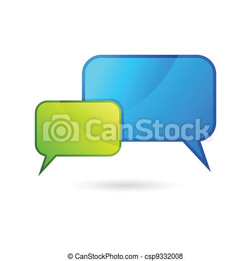 Chat Bubble - csp9332008