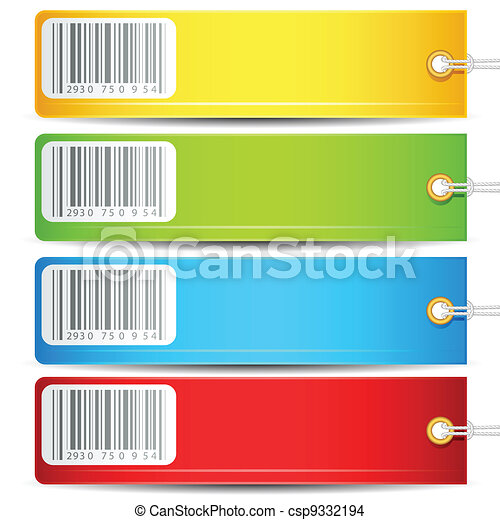 Colorful Tag - csp9332194