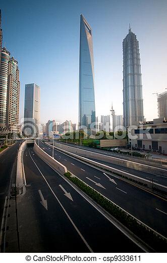 Shanghai Modern infrastructure - csp9333611