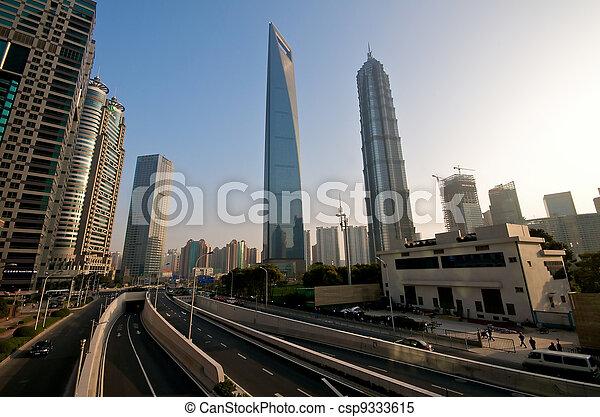 Shanghai Modern infrastructure - csp9333615