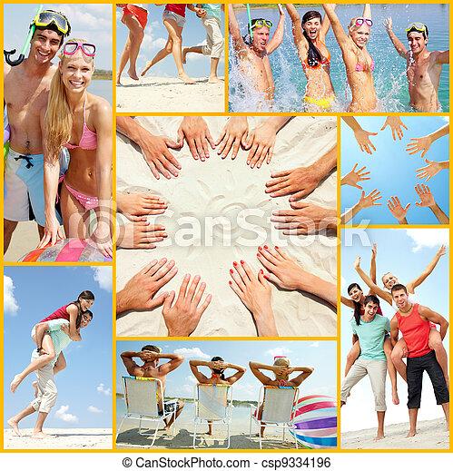 sommer, Urlaube - csp9334196