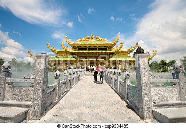 Vietnam Da Nam Temple - csp9334485