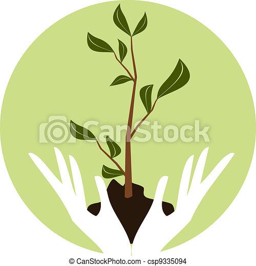 Arbor Day Icon - csp9335094