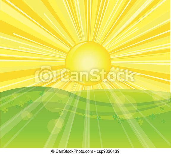 sunny day - csp9336139