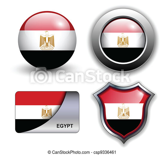 Egypt icons - csp9336461