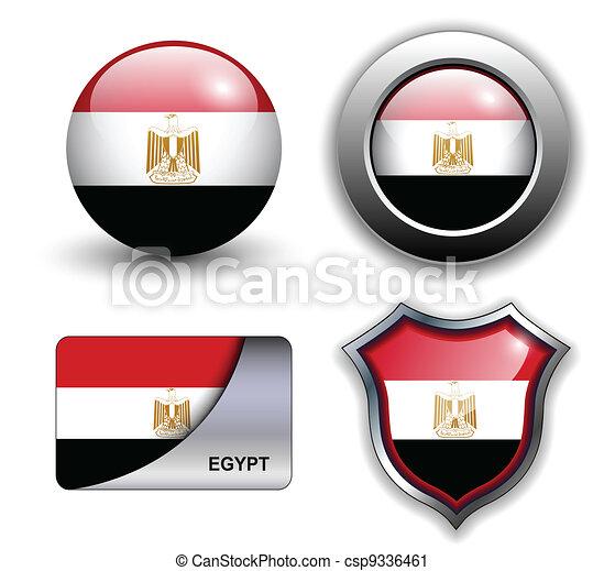 Egypt icons - csp9336461
