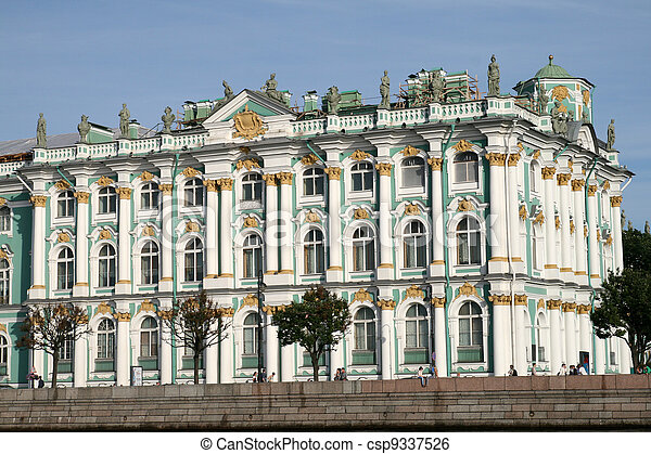 Winter Palace in Saint Petersburg - csp9337526
