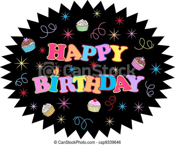 happy birthday - csp9339646