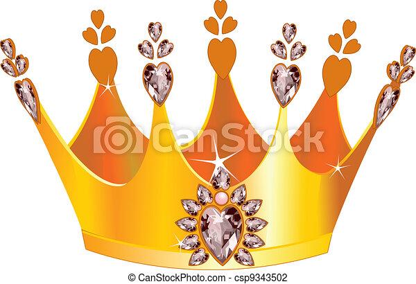 Beautiful tiara - csp9343502